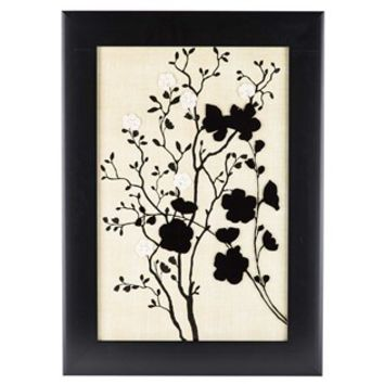 Black & Tan Floral Silhouette Framed Wall Art | Shop Hobby Lobby