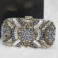 Fully Beaded Evening Clutch