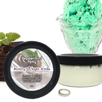 Peppermint Patty Jewelry Sugar Scrub