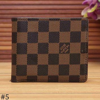 LV Louis Vuitton 2018 new limited edition short wallet wallet F-KSPJ-BBDL #5