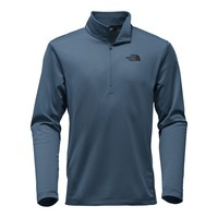 Men's Tech Glacier 1/4 Zip in Shady Blue by The North Face - FINAL SALE