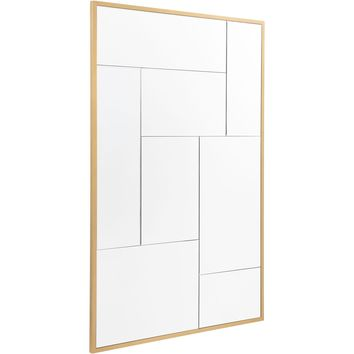 Gold Multiple Wall Mirror