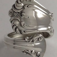 Size 7 Vintage Sterling Silver Reed & Barton Spoon Ring