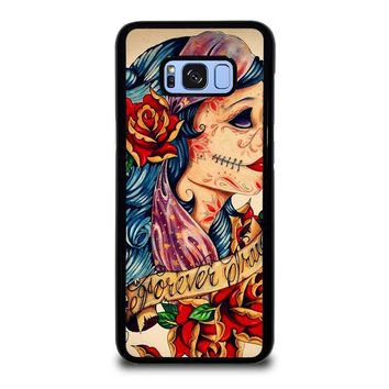 VINTAGE SUGAR SCHOOL TATTOO Samsung Galaxy S8 Plus Case Cover