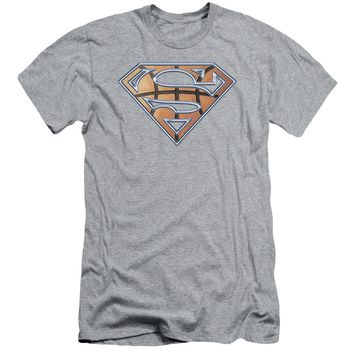 Superman - Basketball Shield Short Sleeve Adult 30/1
