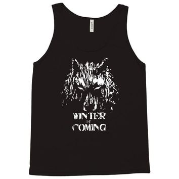 game of thrones direwolf winter is coming Tank Top