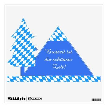 Brotzeit Wandaufkleber Wall Sticker