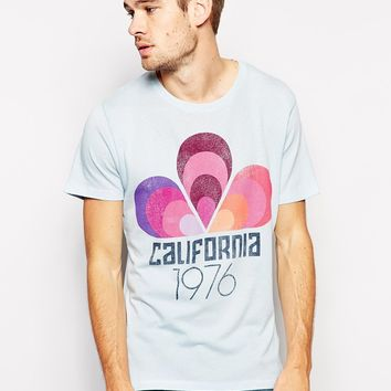 Selected T-Shirt With California Print