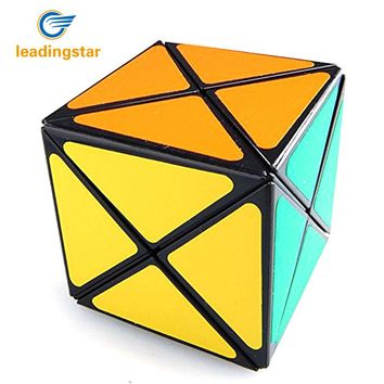 LeadingStar Magic Cube Dino Plastic Magic Cube Brain Teaser Twisty Speed Puzzle Toys for Children Professional Puzzlers
