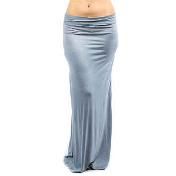 Lyss Loo Fold Over Maxi Skirts