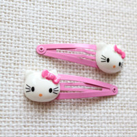 Hello Kitty Snap Hair Clips, Baby / Toddler / Girl Hair Clips