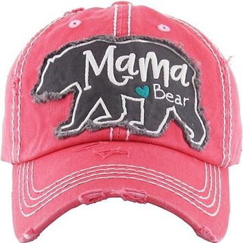 Mama Bear Baseball Hat
