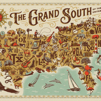 The Grand South, 500 Piece Jigsaw Puzzle