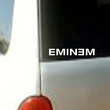 EMINEM  Sticker Decal Vinyl RAP Band Music  Car Window Bumper