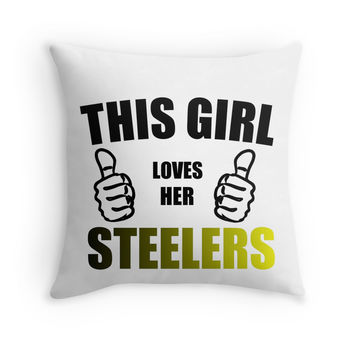 THIS GIRL LOVES HER STEELERS