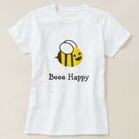 Bee Happy Bumblebee T-Shirt