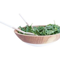 Salad Serving Set + Wooden Servers