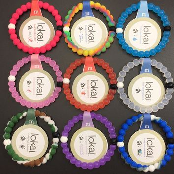 Free epacket or china post 50pcs/lot  lokai bracelet in stock S M L XL 4sizes in high quality