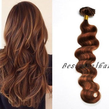 Highlights Ombre hair extensions, Indian remy clip in Balayage ombre human hair extension RHS249