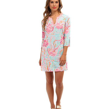 Lilly Pulitzer Courtney Tunic Dress Spa Blue Jellies Be Jammin - Zappos.com Free Shipping BOTH Ways