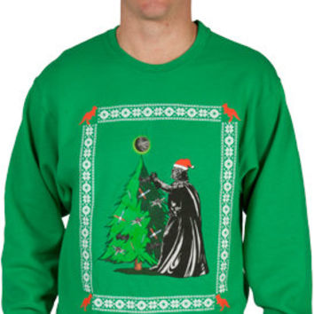 Faux Star Wars Ugly Christmas Sweater