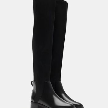 Neoprene elasticated XL boots - BOOTS AND ANKLE BOOTS - WOMAN | Stradivarius United Kingdom