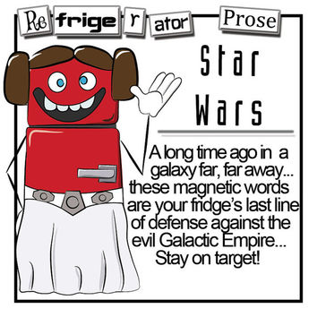 Star Wars Magnet Word Set