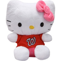 Washington Nationals 8'' Hello Kitty Plush Toy - http://www.shareasale.com/m-pr.cfm?merchantID=7124&userID=1042934&productID=540318898 / Washington Nationals