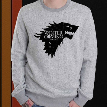 Winter is Coming sweater Sweatshirt Crewneck Men or Women Unisex Size
