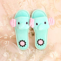 San-x Sentimental Circus Elephant Slippers