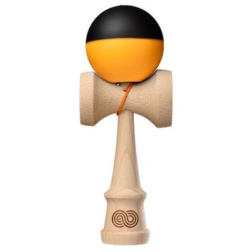 Tribute x Kaizen 2.0 Mashup Kendama - Half Split Neon Orange \ Black