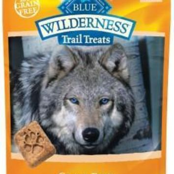 Blue Buffalo Wilderness Turkey Biscuits Dog Treats 10oz