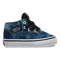 Toddlers Acid Denim Half Cab | Shop Toddler Shoes at Vans