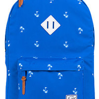 The Heritage Backpack in Resort Blue