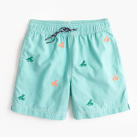 crewcuts Boys Board Short With Octopus Critters