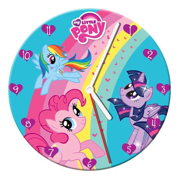 "My Little Pony 13.5"" Wood Wall Clock"