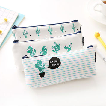 Cactus Love Me -Pencil Case