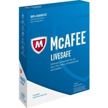 Genuine McAfee LiveSafe 2017 ,1 Year Unlimited Devices - fast delivery 24-7 | eBay