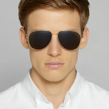 Saint Laurent - Classic 11 Metal Aviator Sunglasses | MR PORTER