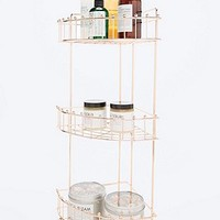 Corner Bath Caddy in Rose Gold - Urban Outfitters