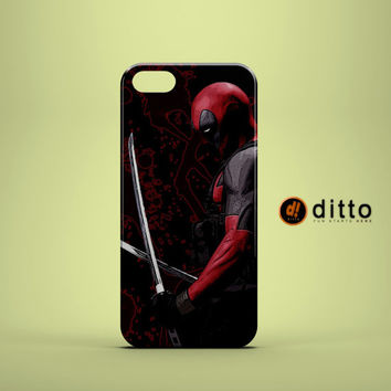 DEADPOOL SLICE DICE Design Custom Case by ditto! for iPhone 6 6 Plus iPhone 5 5s 5c iPhone 4 4s Samsung Galaxy s3 s4 & s5 and Note 2 3 4