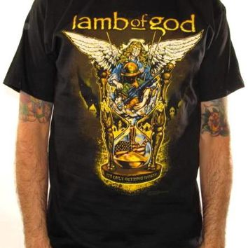 Lamb Of God T-Shirt - Pure American Metal