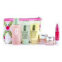 Travel Set: Lotion 3 60ml + D.D.M.G 30ml + Soap 30ml + Moisture Surge 15ml + All About Eyes 7ml + Chubby Stick 3ml + Bag - 6pcs+1bag