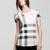 Burberry Brit All Over Check Tee | Bloomingdale's