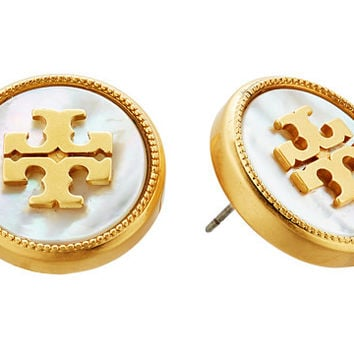 Tory Burch Semi-Precious Stud Earrings