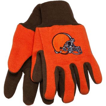 Cleveland Browns - Logo Kids Utility Gloves