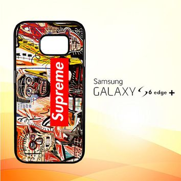 supreme to release collection featuring basquiats V1635 Samsung Galaxy S6 Edge Plus Case