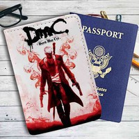 Devil May Cry DMC Leather Passport Wallet Case Cover