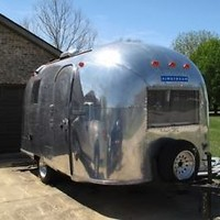 1966 Airstream Caravel 17' Travel Trailer - Custom