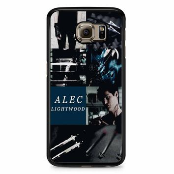 Alec Lightwood Shadowhunters Samsung Galaxy S6 Edge Plus Case